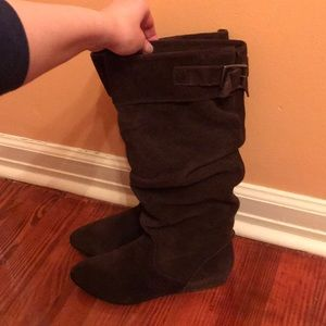 Steve Madden Tall Slouchy Suede Boots